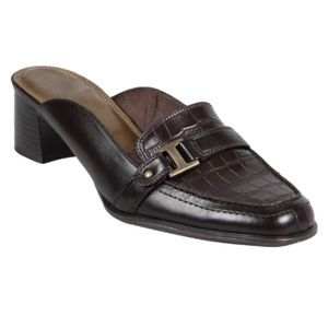 Life Stride Mules 6.5 Jayco Faux Leather Slides